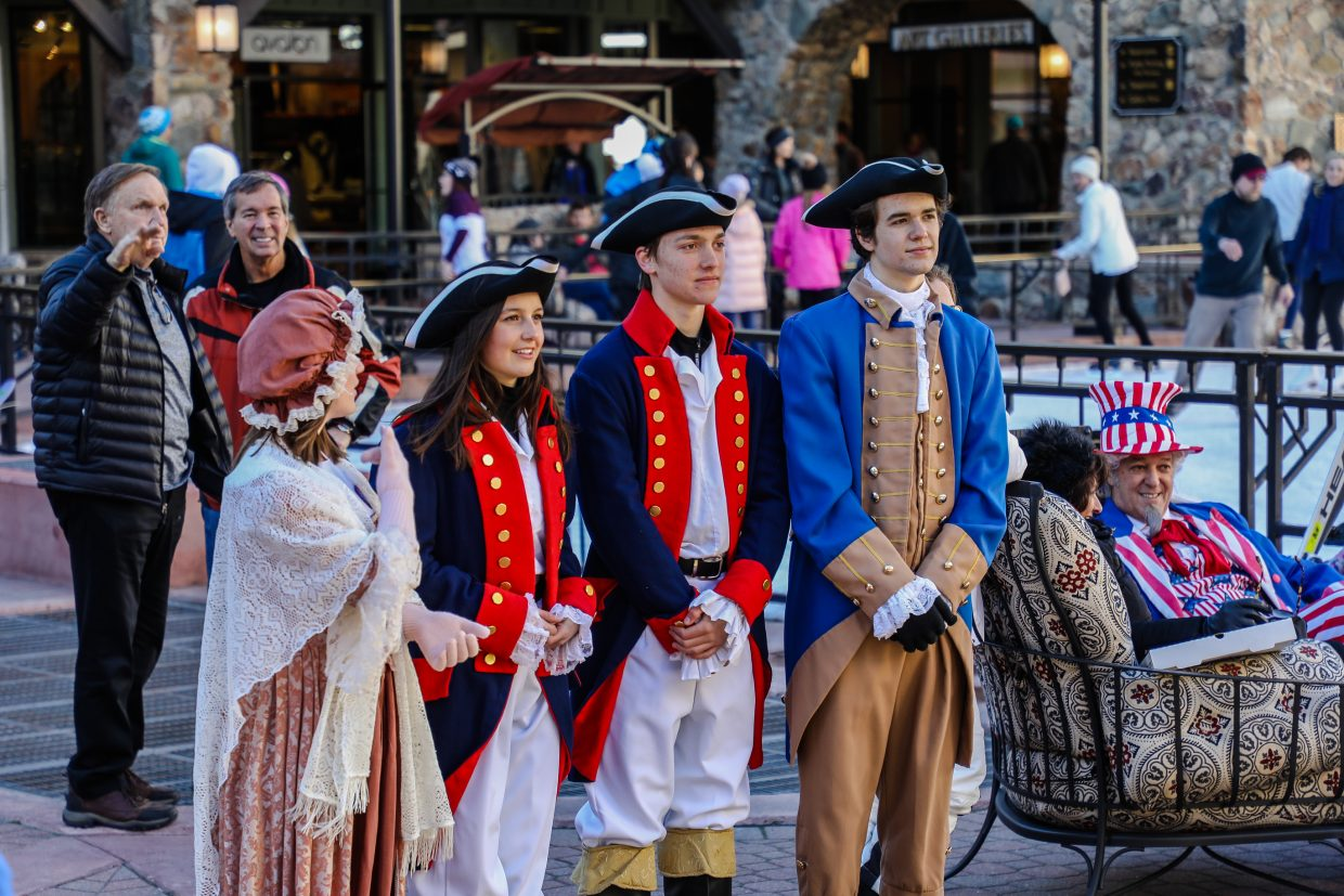 Costumes were prevalent during Prez Fest on Saturday, Feb. 17, in Beaver Creek. The resorts in the Vail Valley saw new snow to usher in the long, holiday weekend.
