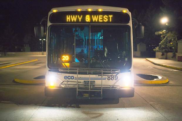 Eagle Countys Eco Transit Bus System Could See Significant Changes