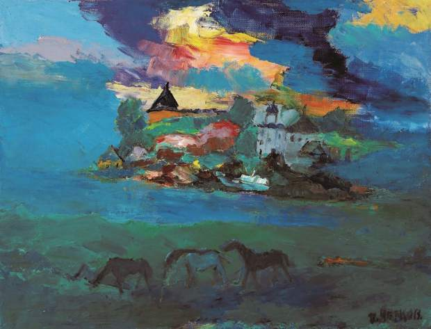 """The Town of Old Ladoga,"" by Boris Chetkov, 26"