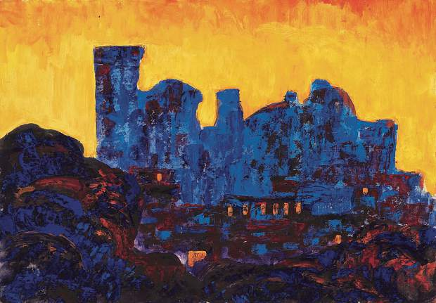 """Sunset in Samarkand,"" by Boris Chetkov, 16"