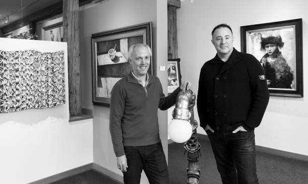 Marc LeVarn and Patrick Cassidy, of Vail International Gallery, are hosting an opening reception for the Boris Chetkov exhibition on Saturday, Feb. 17.