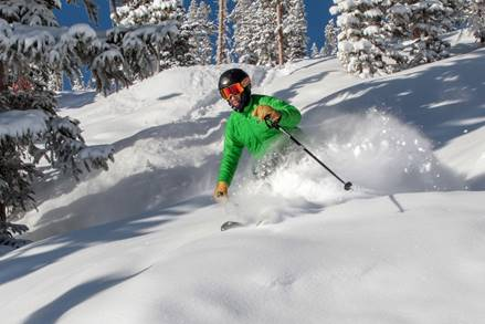 photo - winter park resort skier