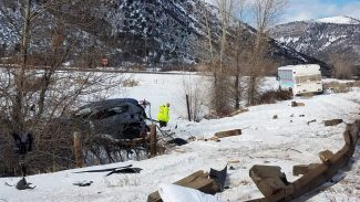 photo - fatal crash in Aspen