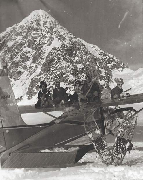 Don Sheldon was one of Alaska's aviation pioneers, and one of the first to modify planes to land on glaciers.