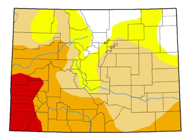 Vail Colorado Map State.Vail Area Snowpack Still Lower Than Normal Prospects Uncertain For