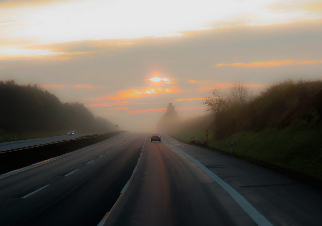 photo - highway driving