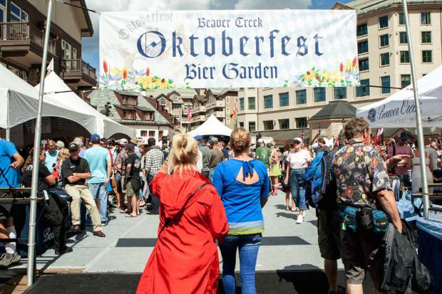 Multiple Oktoberfest celebrations take place throughout the Vail Valley, starting in September.