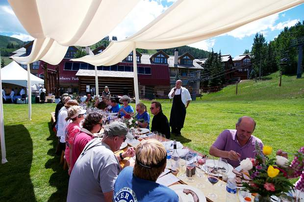 The Beaver Creek Wine & Spirits Festival in August is a perfect time to experience Beaver Creek in the summertime.