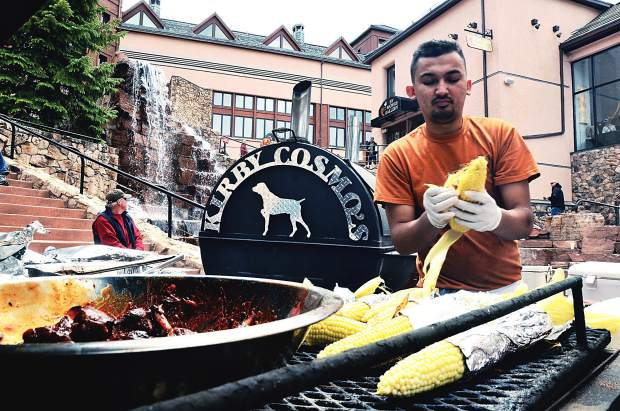 The Blues, Brews & BBQ Festival at Beaver Creek in May features top chefs from around the state along with brews and blues music.