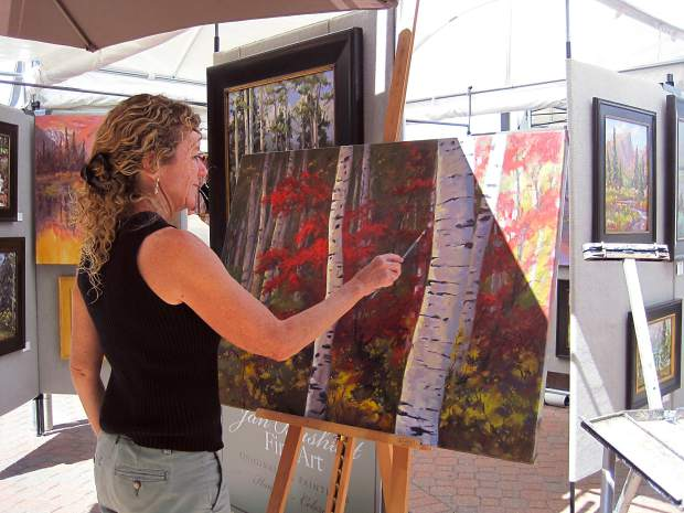 The Beaver Creek Arts Festival brings in artists from 30 different states in August.