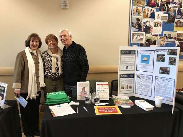 The Vail Valley PlantPure Communities chapter promoted plant-based eating at the Starting Hearts Health Fair.