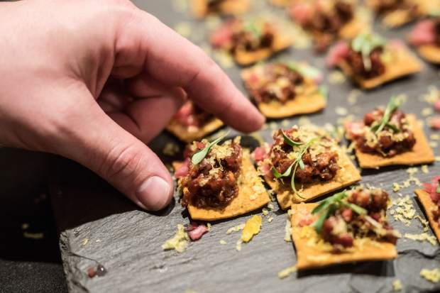 The Grand Tasting closes out the Taste of Vail on Saturday, April 7, featuring all of the festival's wineries and restaurants. The evening also includes the Taste of Vail auction.