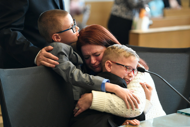 photo - National Adoption Day celebrated in many of Colorado's judicial districts