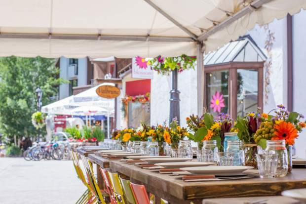 Colorado Local Farm To Table Dinner Series Returns To Vail