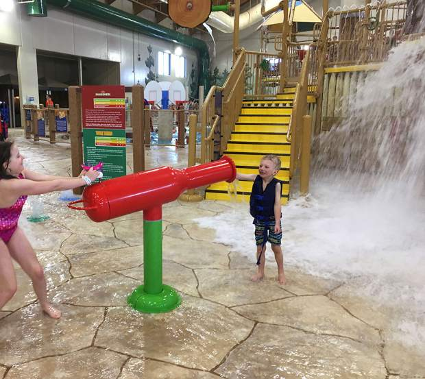 Staying at Great Wolf Lodge in Colorado Springs is the only way to access this fun indoor water park.