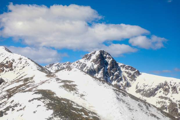 Mount of the Holy Cross, Eagle County's only 14er.