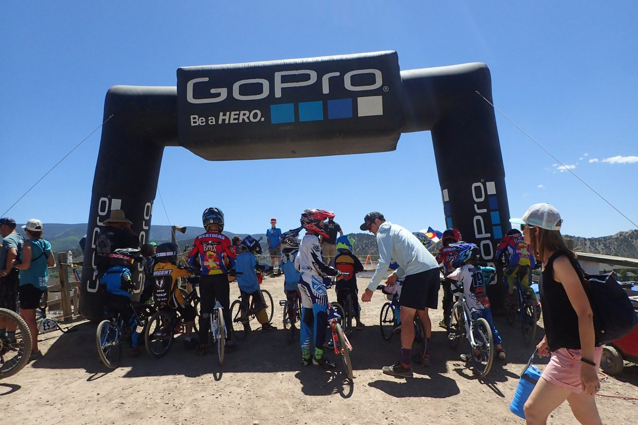 The BMX bike events were new in Eagle for the GoPro Mountain Games on Friday, June 8, in Eagle.