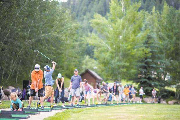 For $10 at Eagle-Vail Golf Club's Buckets and Brews on Thursdays, you get a bucket of balls, two beers and a chance to win a weekly prize, including beer, skis, longboards and more.