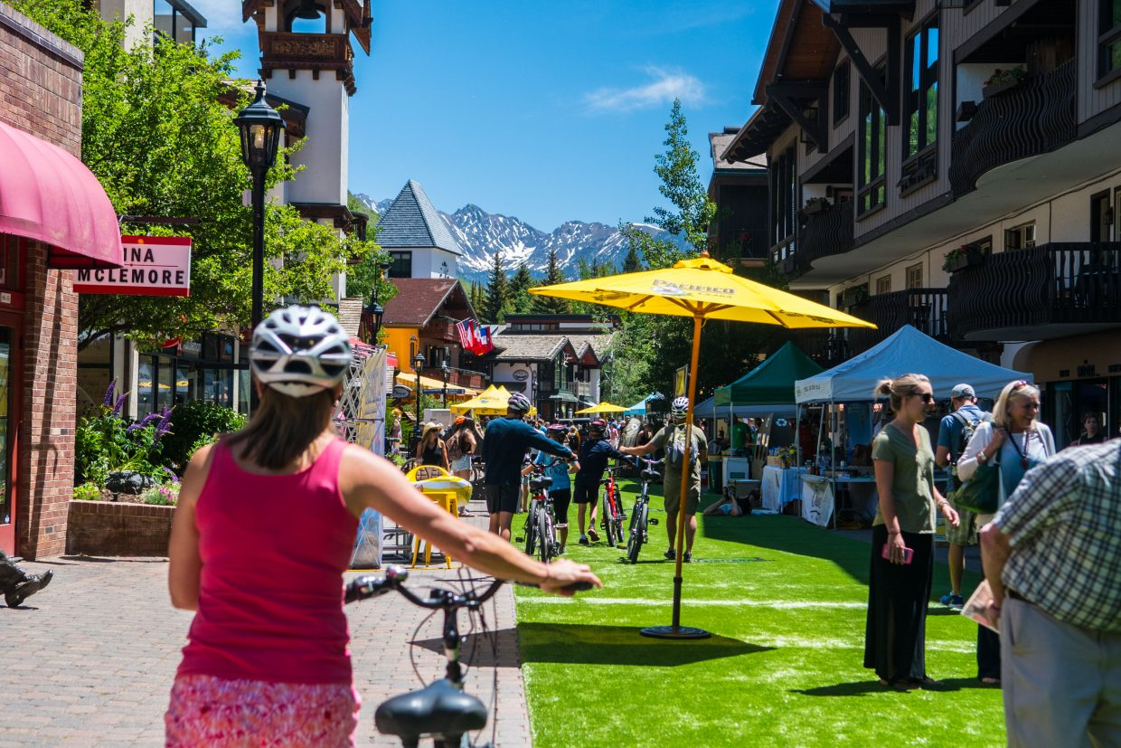 The Gopro Mountain Games draw thousands of people in to Vail and the surrounding areas every year.