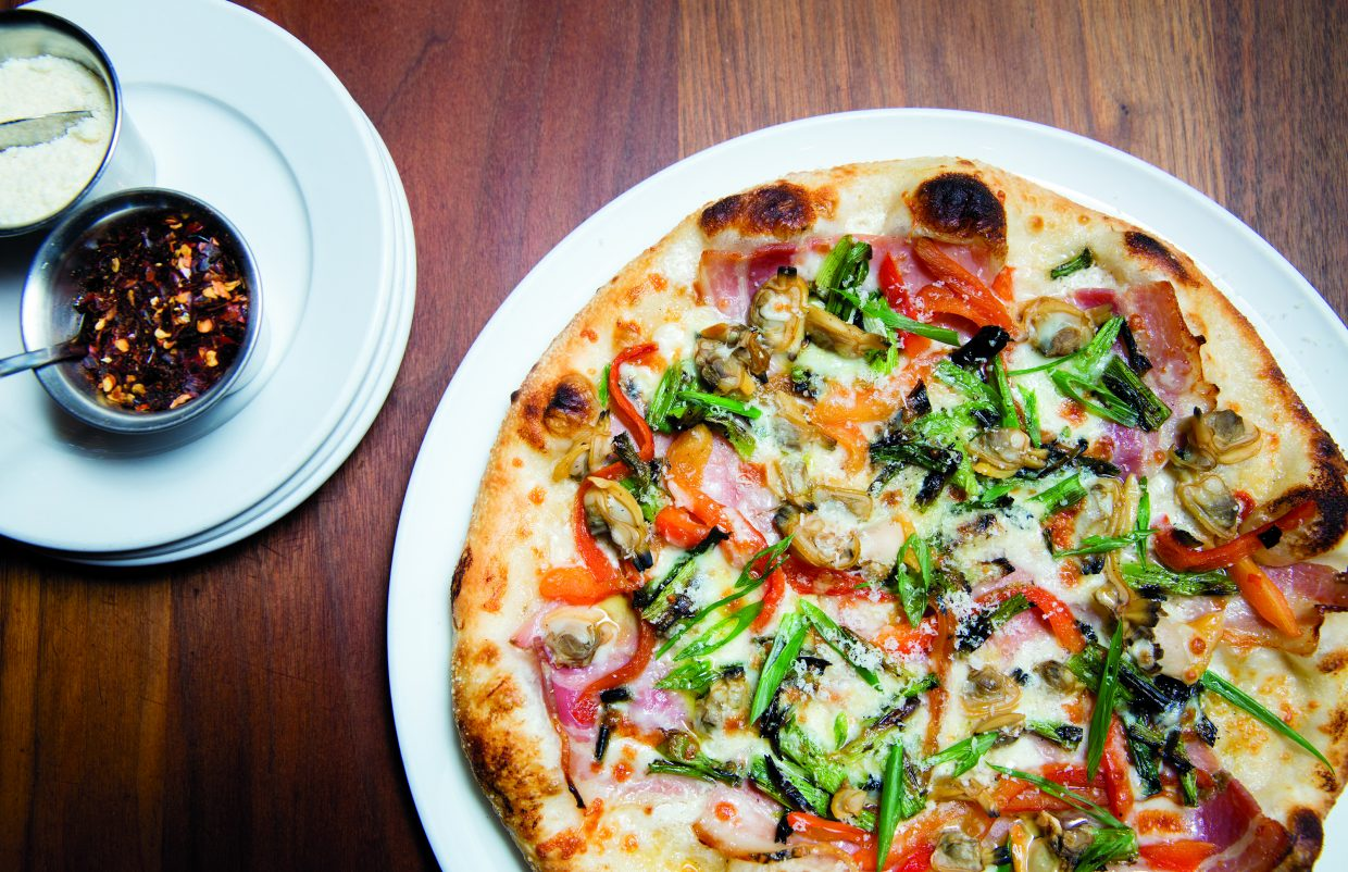 Zino Ristorante always has several pizzas on the menu.
