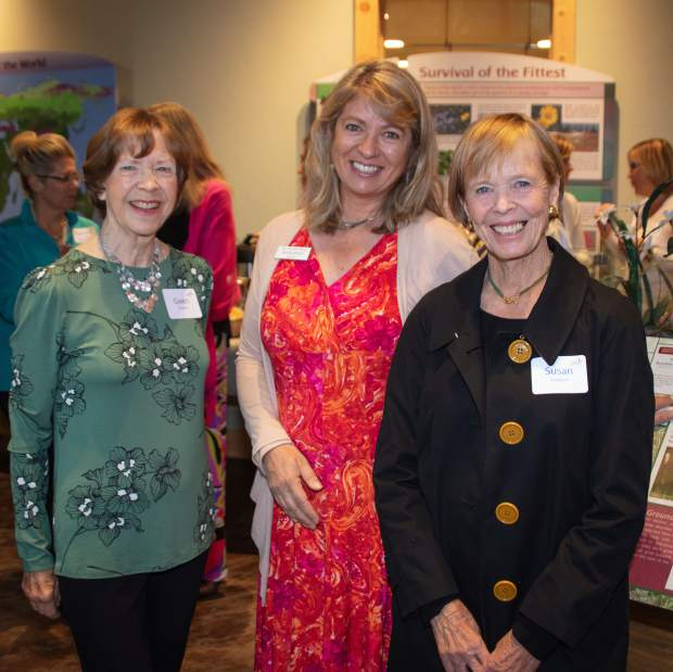 Gwen Scalpelo, Executive Director Nicola Ripley and Susan Frampton.