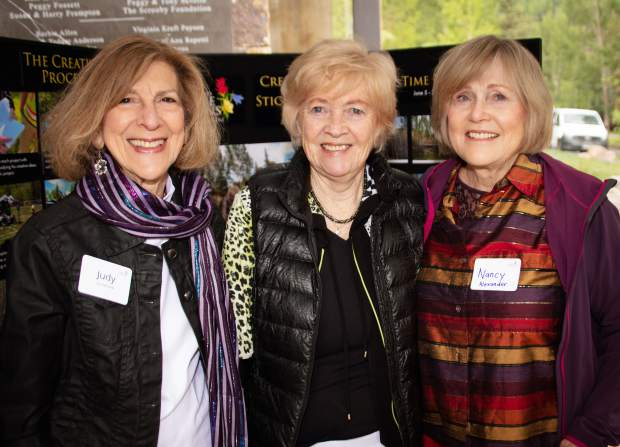Judie Turtletaub, Marcia McCalden and Nancy Alexander.