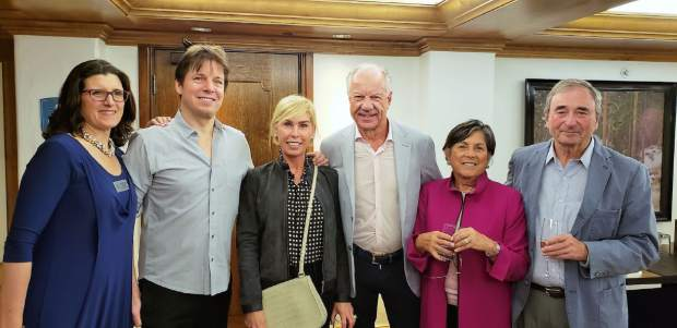 Jacqueline Taylor, Joshua Bell, Ava-Marie and Ray Berry, Judy and Alan Kosloff.