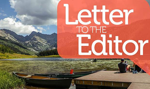 Letter: Proposed reservoir is bad for Eagle County