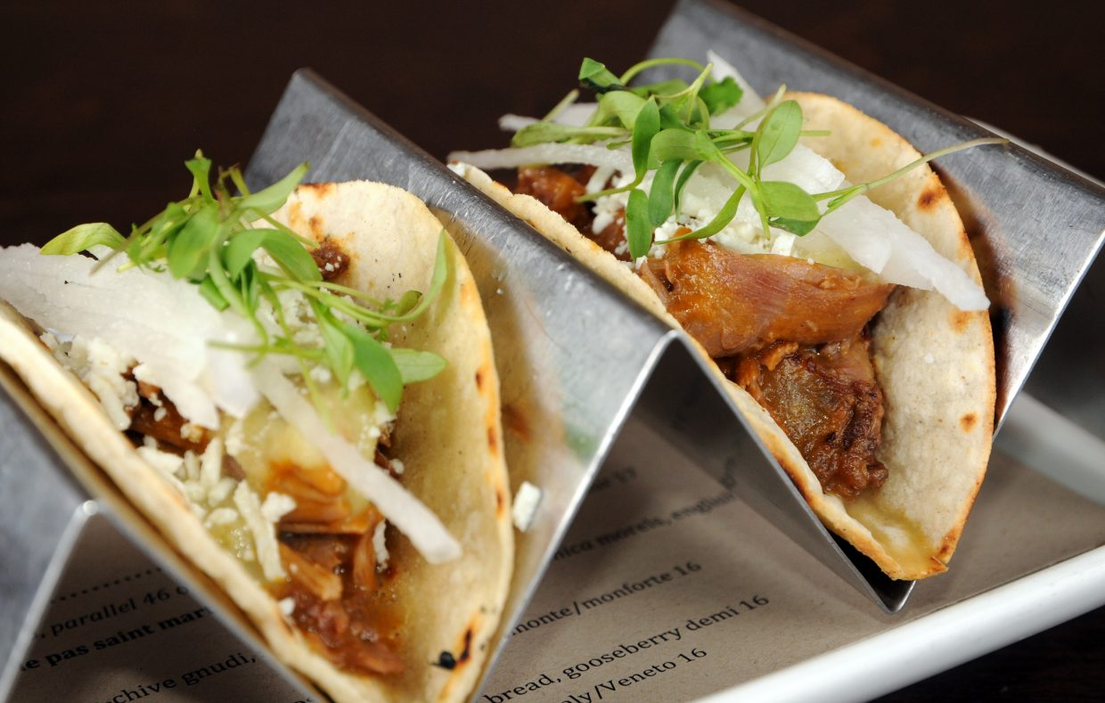 Vin48's goat tacos start with happy goats.