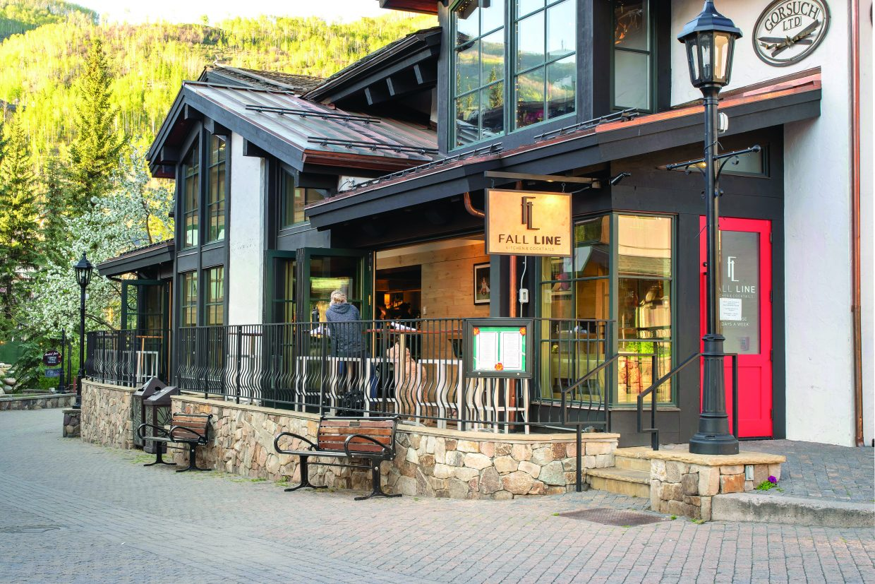 photo- Fall Line restaurant Vail, CO