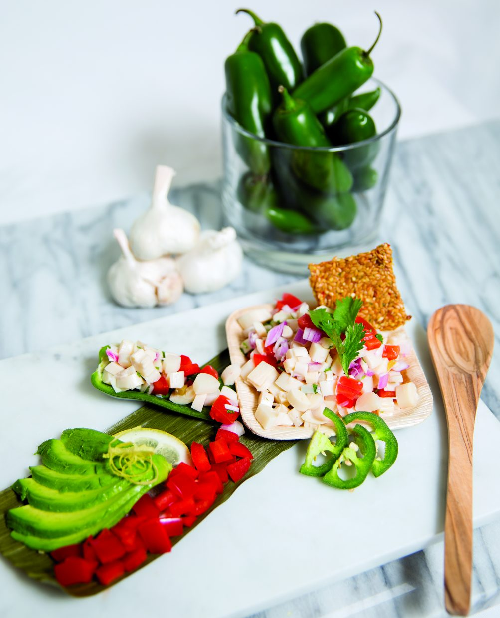 photo - Hearts of palm ceviche