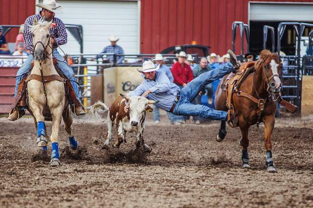 In addition to the professional rodeo competition, the Eagle County Fair & Rodeo features 4-H competitions, kids crafts, chainsaw carve wars, live music and more from July 25-28.