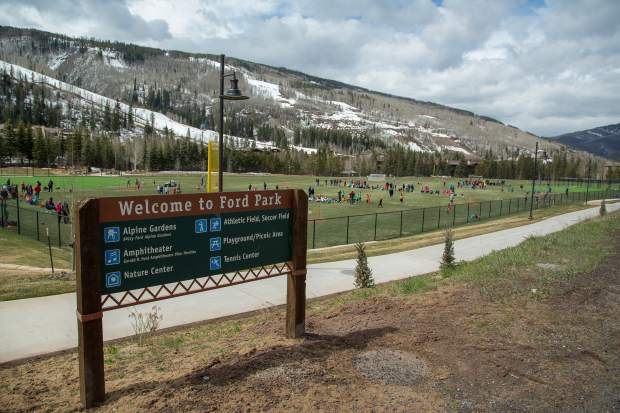Vail's Ford Park is a short walk from Vail Village and features athletic fields, playgrounds and more for kids.