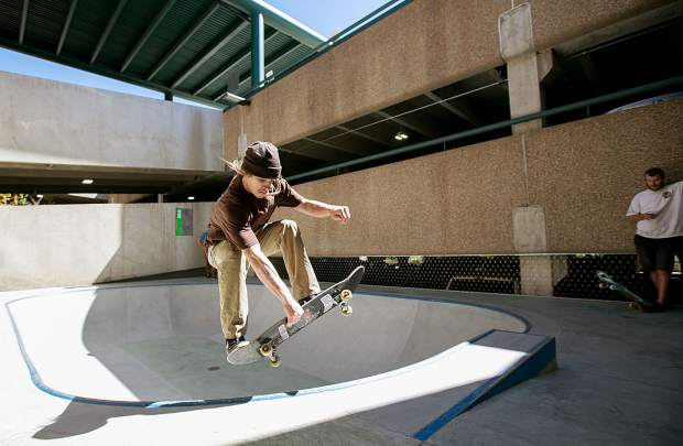 The Zeke M. Pierce Skatepark is free to shred and is located inside the Lionshead parking structure.