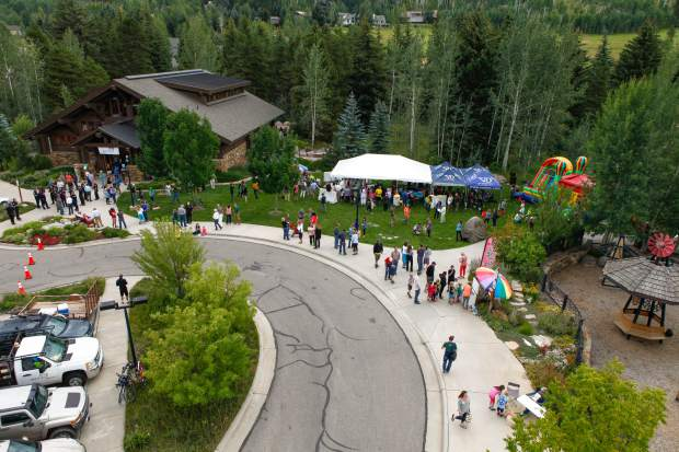 Donovan Park and Pavilion is located in West Vail near the bike path and features an area for kids to play, picnic tables, a public grill and more.