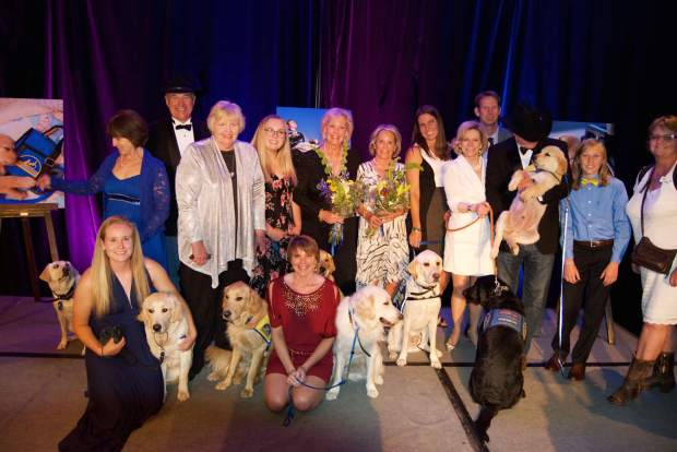 The Canine Companions for Independence community celebrated successes at the Puttin' on the Ritz Gala to benefit of the nonprofit organization that enhances the lives of people with disabilities by providing expertly trained assistance dogs and support.