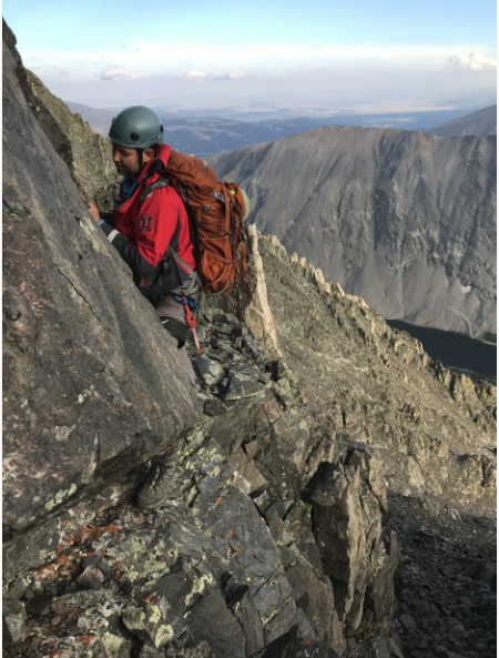 photo - rescue on Quandary Peak