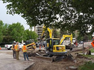 Avon streetscape improvement project on pace for August finish