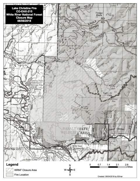 New team takes over Lake Christine Fire, firefighting cost estimate ...
