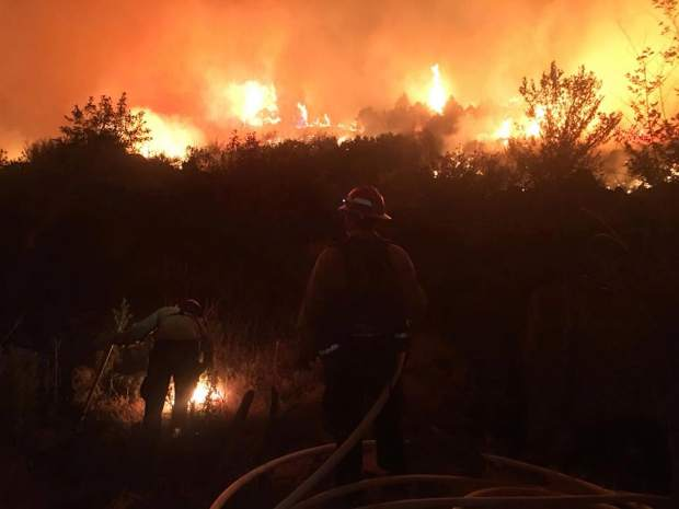 It came within yards of structures and homes in the Roaring Fork Valley, before fire fighters were able to push it back.