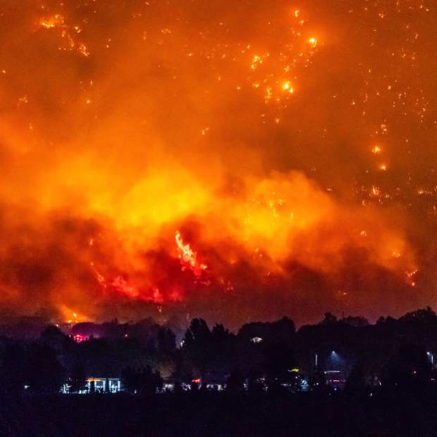 The Lake Christine Fire was sparked in July by two people firing incendiary rounds at a Basalt gun range.