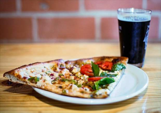 Blue Moose Pizza, with locations in Beaver Creek and Lionshead Village in Vail, will be offering 15-inch one-topping pizzas with two alcoholic beverages or a pitcher of soda for $20.18, as well as $2.18 drink specials.