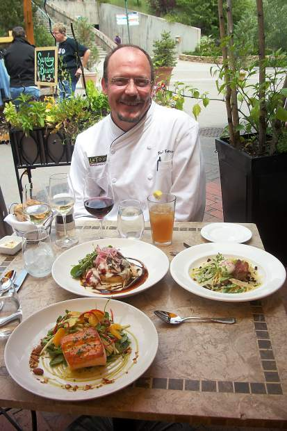 La Tour owner and chef Paul Ferzacca will be serving up all entrees for $20.18 and discounts on select wines. La Tour is located in Vail on East Meadow Drive.