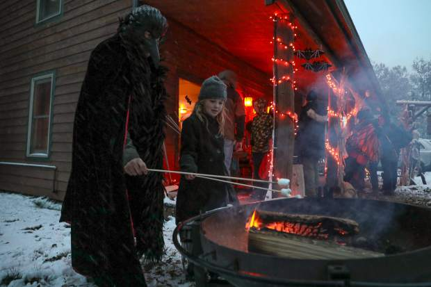 S'mores and fires went hand-in-hand at The Minturn Inn during the annual Trick or Treat event Tuesday, Oct. 30, in Minturn.
