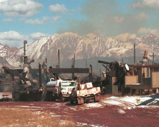 The Vail Valley community rallied to rebuild after Two Elk restaurant atop Vail Mountain was reduced to rubble by eco-terrorists on Oct. 19, 1998.