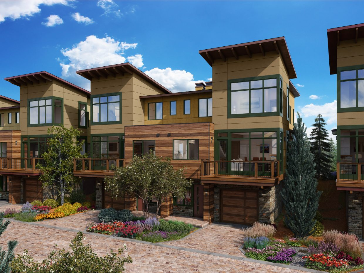 Riverfront Townhomes will offer beautiful views of Beaver Creek, access to amenities at the Westin Riverfront Resort, and walkability to everything the Town of Avon has to offer.