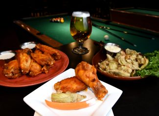 Bob's Place offers a sports bar experience with a flavorful touch