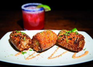 El Sabor offers delicious Latin American cuisine just steps from the snow