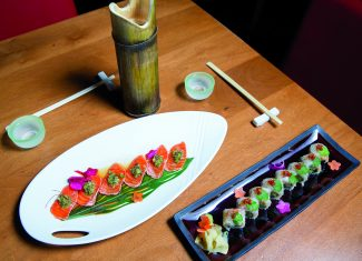 Matsuhisa offers intricate Japanese cuisine with a Hokusetsu chaser