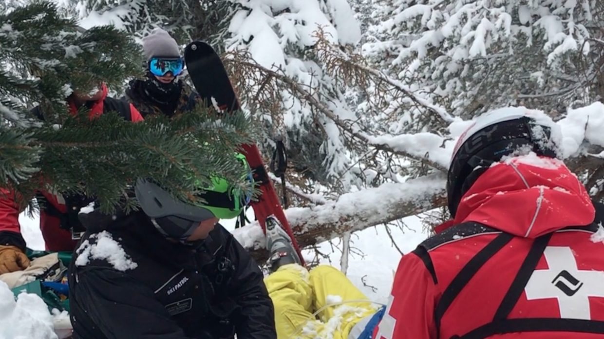 Video from the Vail Daily's John LaConte will be used in a story from the CBS News affiliate in Denver, helping document a man's story of survival after a crash on Vail Mountain.